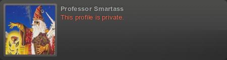 Professor Smartass